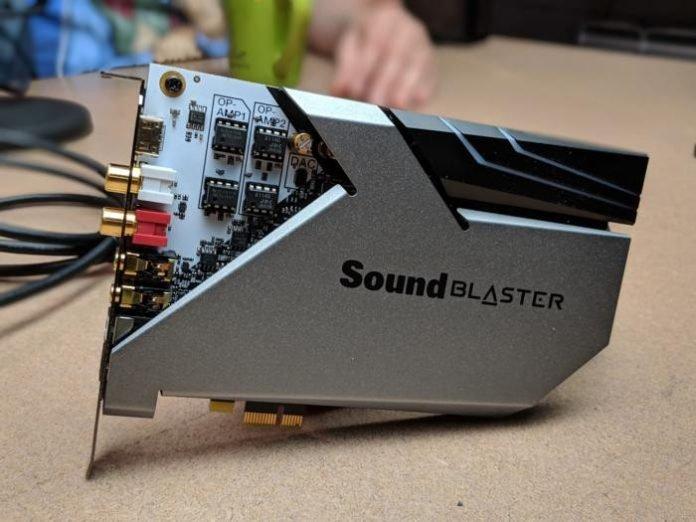 Sound BlasterX AE-9 1
