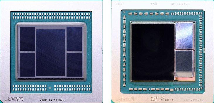 Vega die dengan HBM2
