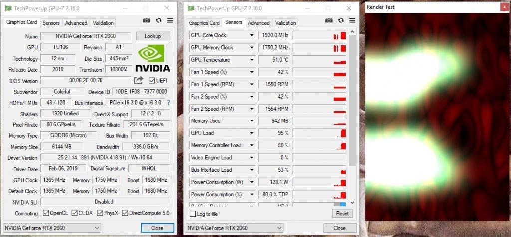 Screenshot GPU-Z
